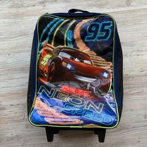 Disney Cars carry on luggage
